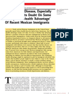 RAND study on Mexican Immigrant Health