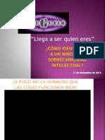 Como identificar a un niño con sobrecapacidad intelectual Oaxaca