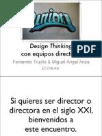 Design Thinking con equipos directivos
