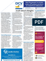 Pharmacy Daily for Tue 04 Dec 2012 - Shingles truth, PBS changes, Teens and meds and much more...