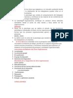 Psicologia Organizacional Diapositivas