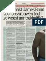 Wat maakt James Bond voor ons vrouwen toch zo woest aantrekkelijk?