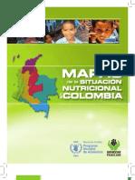 Mapas Situacion Nutricional Colombia