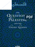 The Question of Palestine and the United Nations