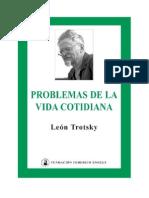 16189412 Bronstein Lev D Trotsky Problemas de La Vida Cotidiana 1923