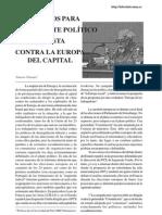 16190541 Chesnais F Elementos Para Combate Politico Contra Europa Del Capital Laberinto n 15 2004