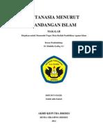 Eutanasia Menurut Pandangan Islam