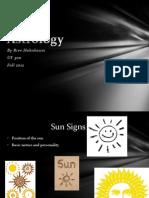 Sun Signs