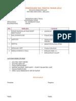 Laporan Pmantauan Fail Panitia 2012