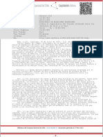 Decreto 1110 (16 agosto 1929)