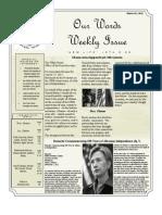 Newsletter volume 4 Issue 47