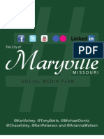 City of Maryville Social Media Plan