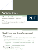 TCM 710 - Volume 2 Chapter 6 Managing Stress