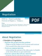 TCM 710 - Volume 2 Chapter 5 Negotiation