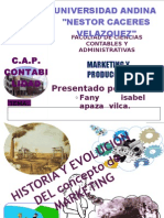 MARKETING Y PRODUCCIÓN