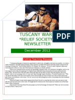 December 2012 RS Newsletter