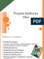 Projekt Biofizyka Oko