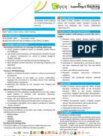 Fact Sheet Educa 2009 & 1st ICLT
