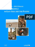 Water Supply in East Asia and the Pacific - 2012 Update