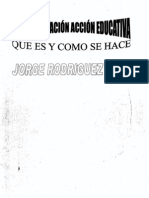 Investigacion Accion Educativa Rodriguez Sosa