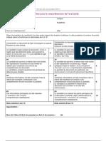 Grille évaluation CO LV2- B1