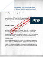 Report on Assessment of Male International Airport Privatization