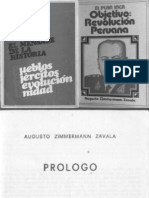 El Plan Inca (Objetivo-revolucion Peruana) - Augusto Zimmermann Zavala (Peru 1972)