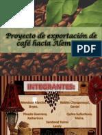 exportación de café encuesta
