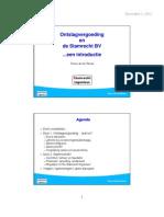 Ontslagvergoeding en Stamrecht BV's (versie 2 dec 2012)