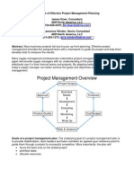 Elements of Effective Project Management Planning KiserALT