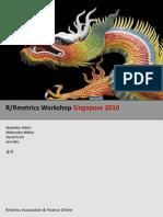 Rmetrics Workshop Singapore 2010