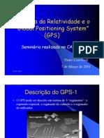 A Teoria Da Relatividade e o GPS