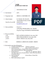 CV Fatih