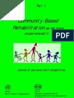 6140243 Community Based Rehabilitation Part I