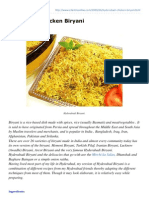 Cilantroonline.com-Hyderabad Chicken Biryani