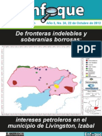 Intereses petroleros en el municipio de Livingston, Izabal
