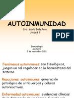 Autoinmunidad 2011 Med