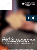 Transparency International - rapport 2012