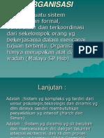 2. Organisasian