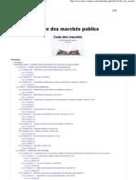 Code des marchés publics _(2006_) - Achats-marchés