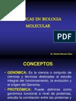 Tecnicas en Biologia Molecular