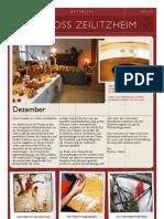 Dezember 2012 Rundschreiben Barockschloss Zeilitzheim