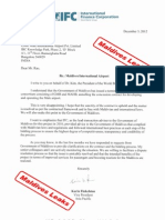 IFC Letter to Dr.rao