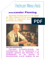 Biografía sobre Alexander Fleming.