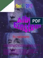 Presentación sobre Albert Einstein.