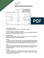 Reglamento Básico Baloncesto 2º eso