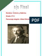 Biografía de Einstein.