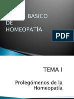 Curso Básico de Homeopatía