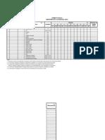 Formatos de Monitoreo de La Calidad de Agua (FORMATO FCAG-01)