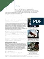 Determining the Cost of Welding